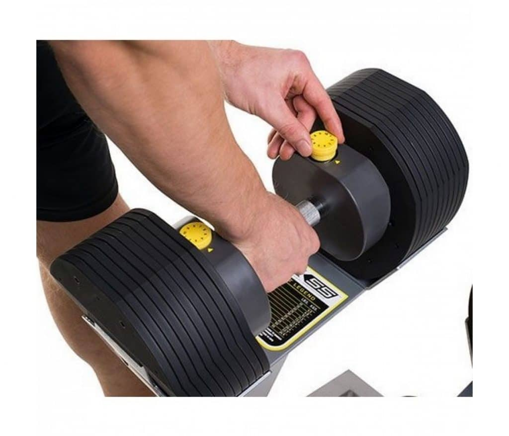 MX55 justerbare håndvægte