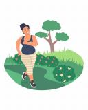 Hvor mange kalorier forbrænder man ved at gå?